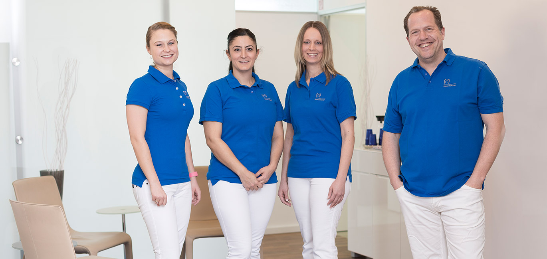Team Zahnarzt Dr Marc Mauch - Zahnarztpraxis Stuttgart Mitte - CMD Craniomandibuläre-Dysfunktion - Kopfschmerzen